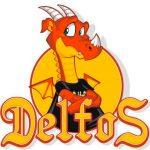 Alfredo, Logotipo, Delfos, Dragão