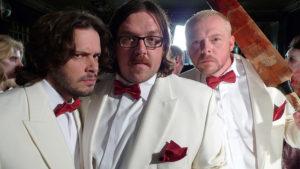 Edgar Wright, Simon Pegg, Nick Frost