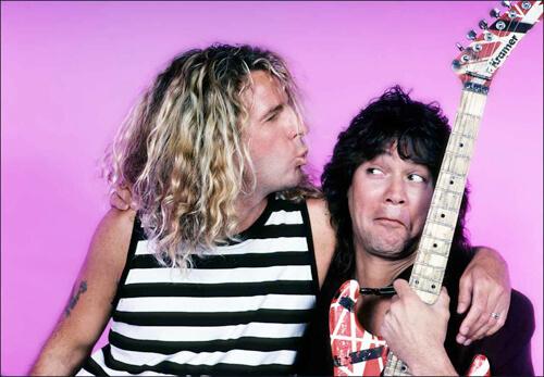Van Halen, Sammy Hagar, Eddie Van Halen