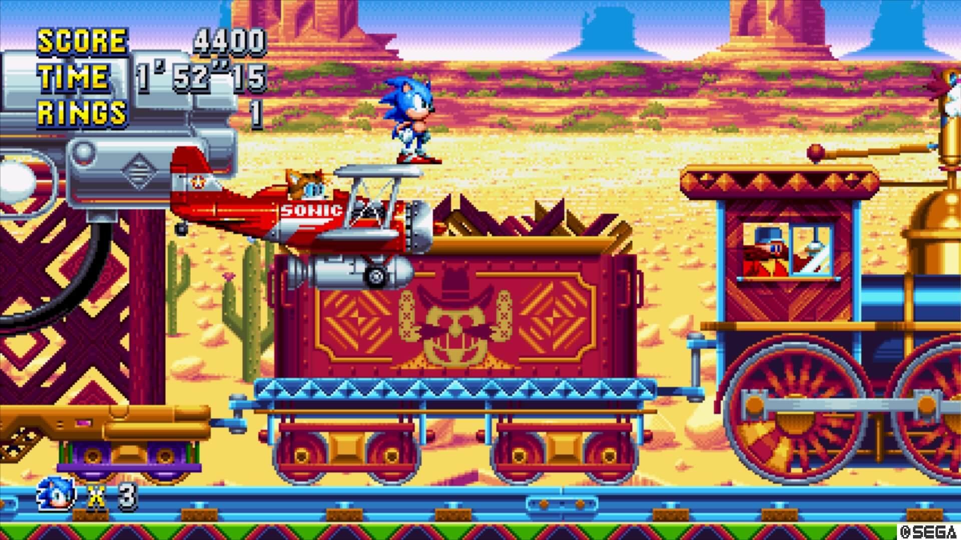 Sonic Mania, Delfos
