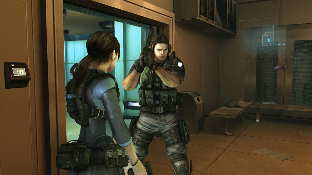 Resident Evil Revelations, Delfos