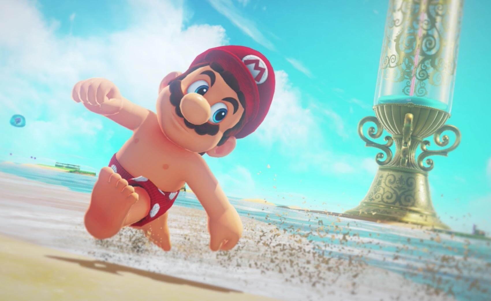 Super Mario Odyssey, Delfos