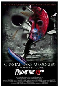 Delfos, Crystal Lake Memories, Sexta-Feira 13, Cartaz
