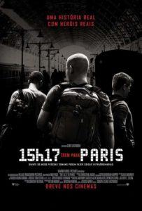 Delfos, 15h17, Trem para Paris, Cartaz