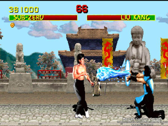 Street Fighter II, Delfos, Mortal Kombat