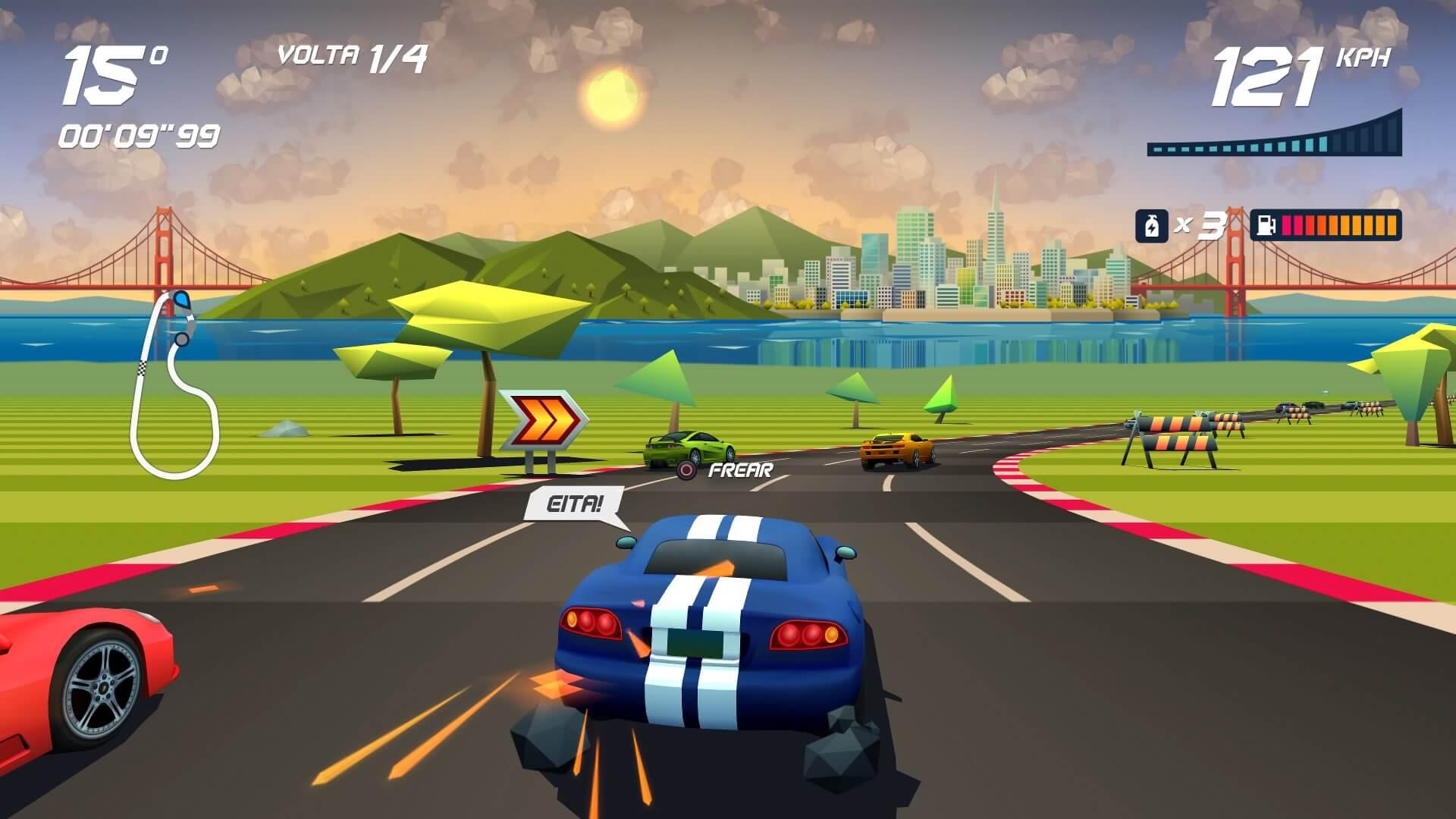 Horizon Chase Turbo, Delfos