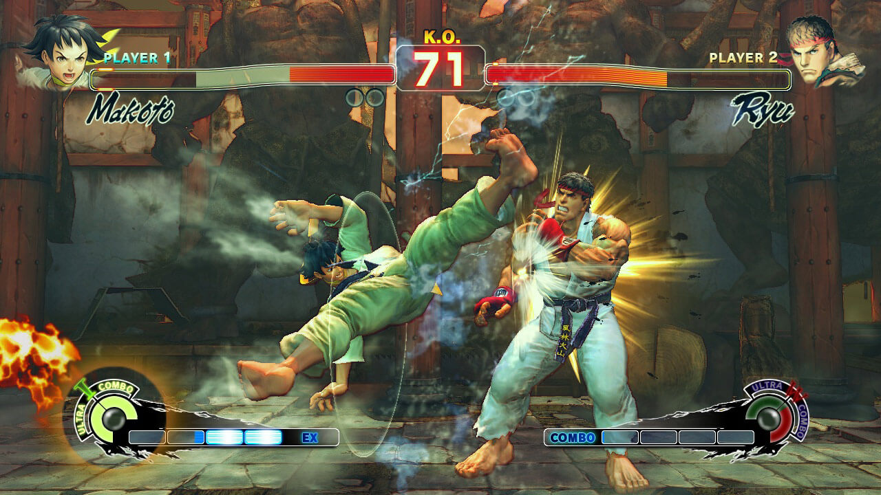 Street Fighter II, Delfos, Street Fighter IV