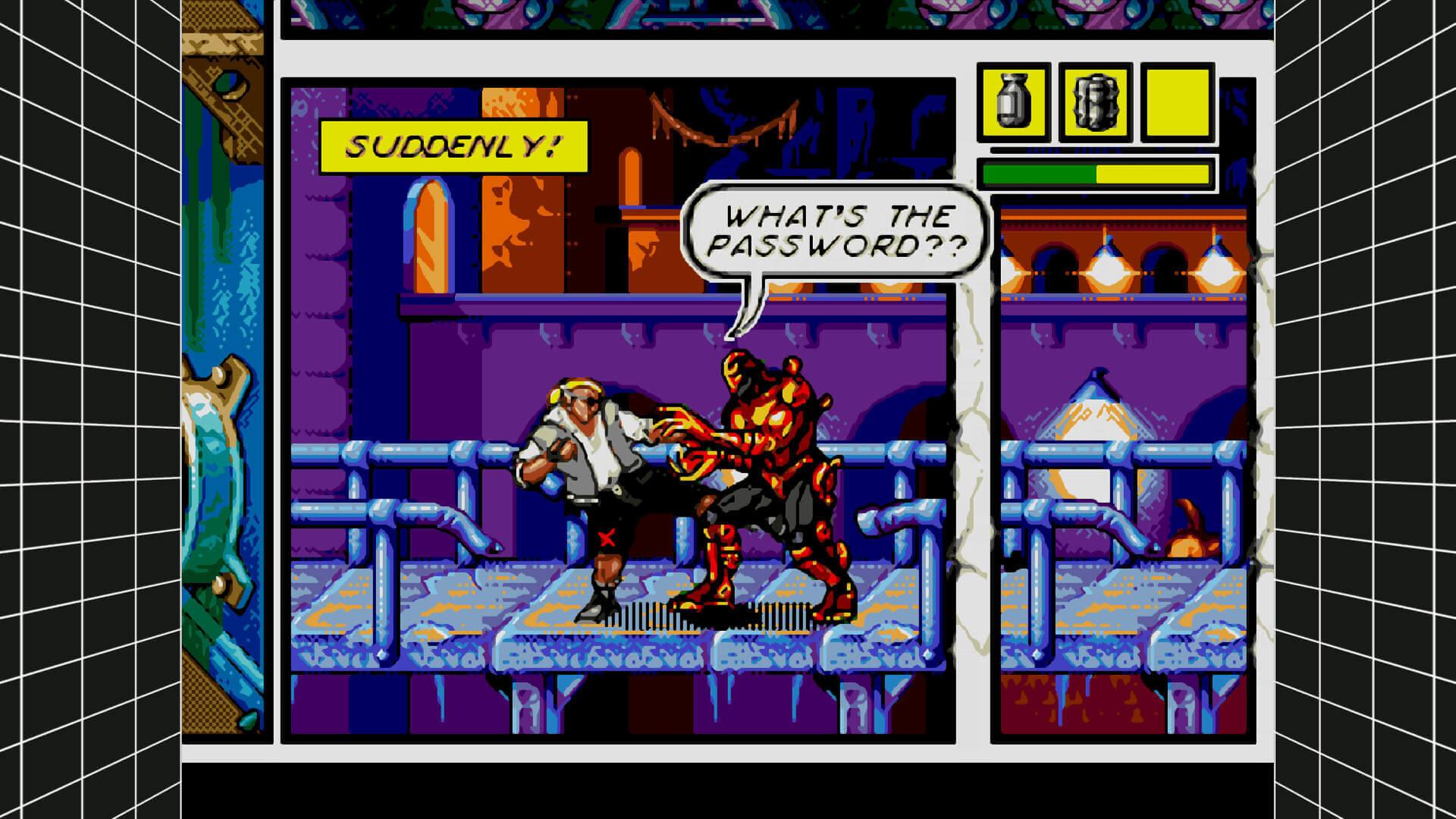 Comix Zone, Sega Genesis Classics, Delfos