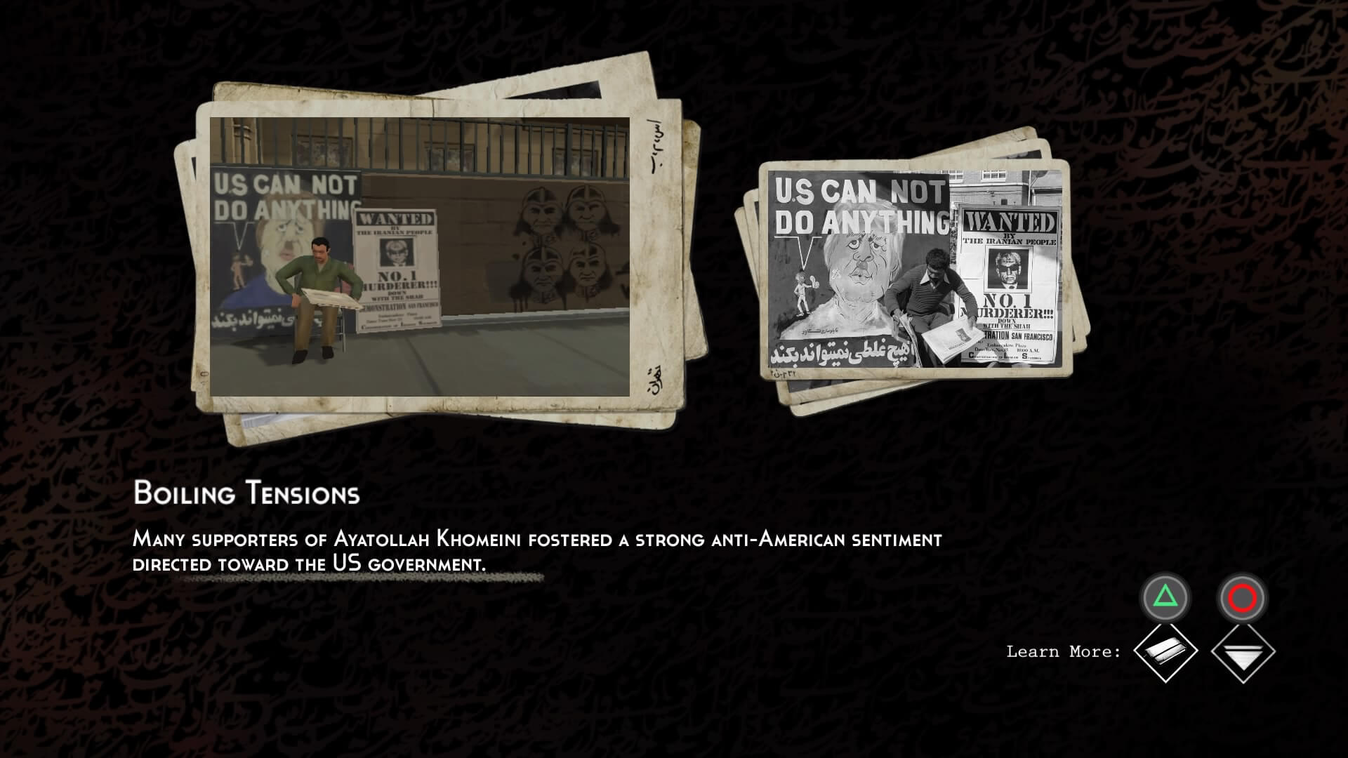 1979 Revolution: Black Friday, Delfos
