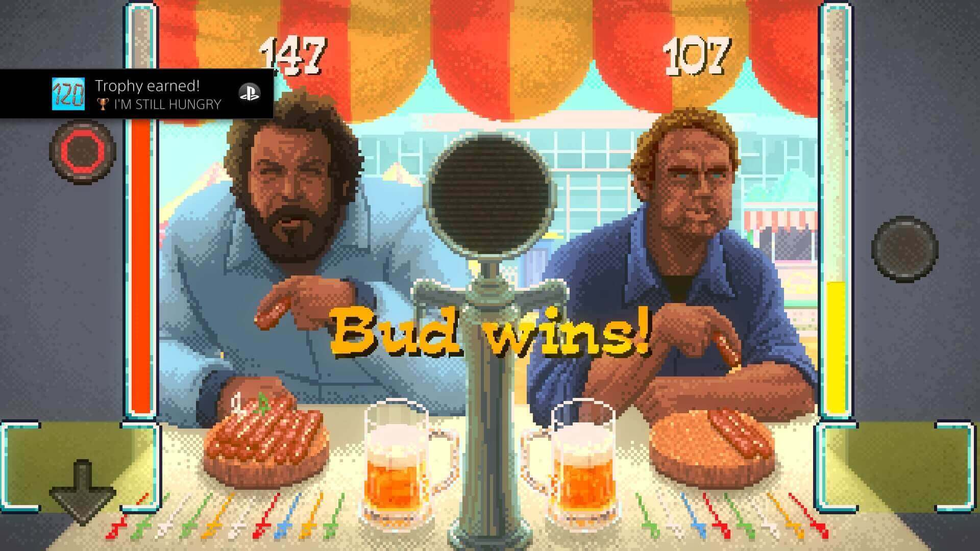 Bud Spencer & Terence Hill, Slaps and Beans, Delfos