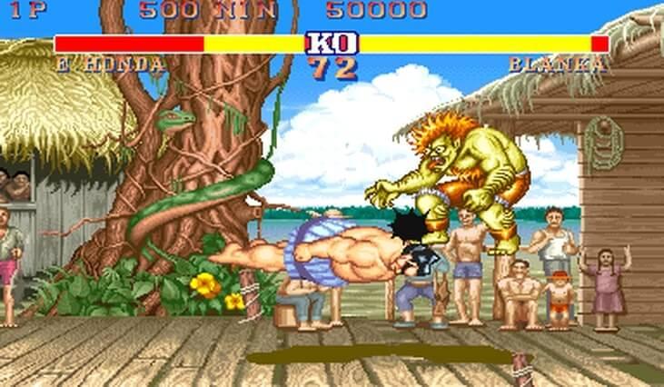 Street Fighter, E Honda, Delfos