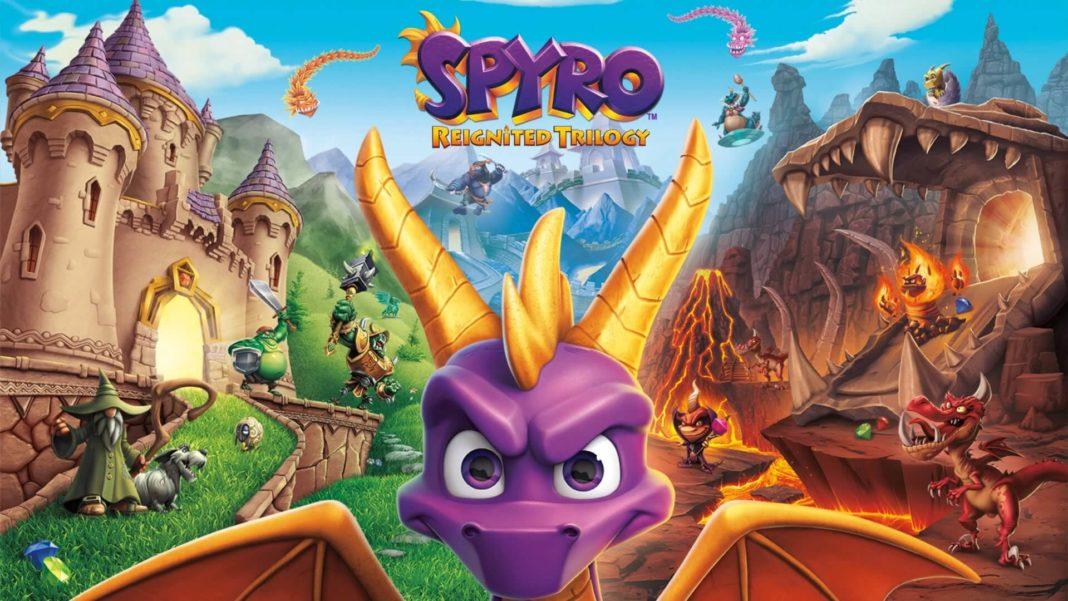 Spyro Reignited Trilogy, Spyro the Dragon, Spyro 2: Ripto's Rage! and Spyro: Year of the Dragon, Delfos