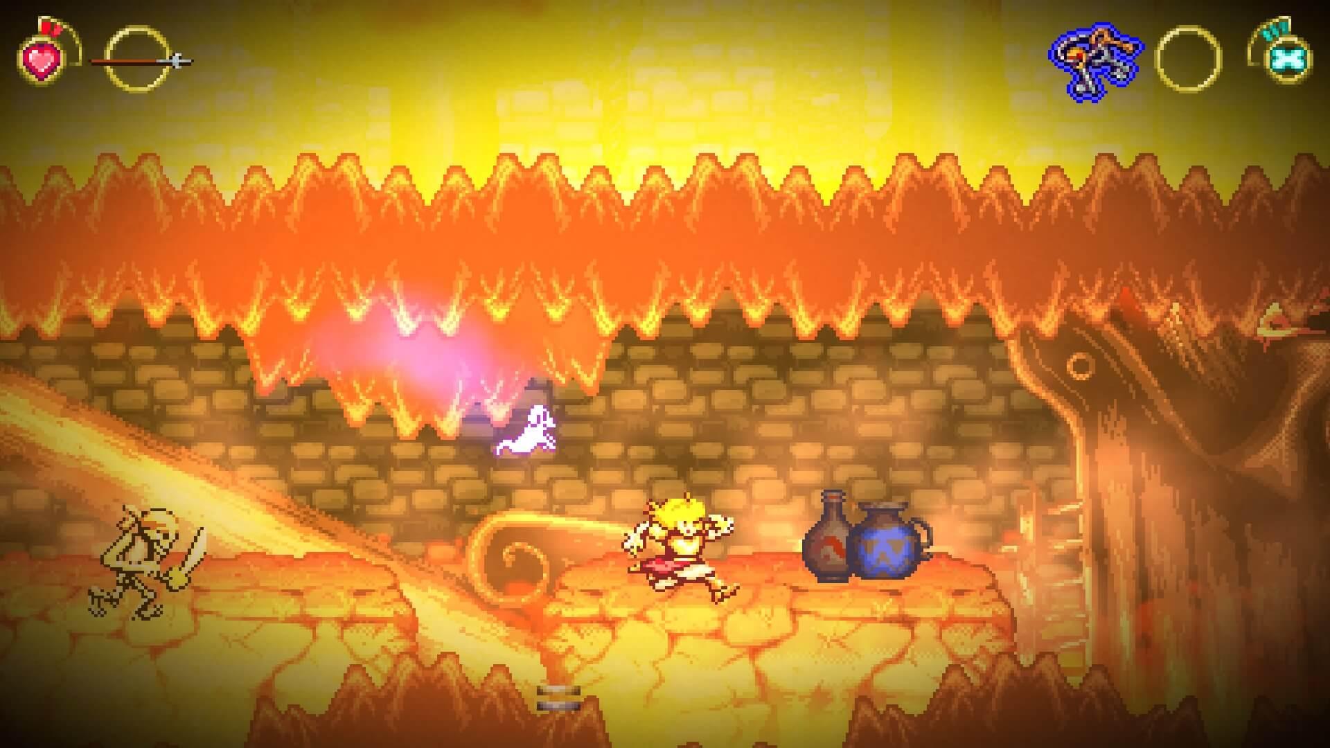 Battle Princess Madelyn, Delfos, Causal Bit Games, Ghouls 'N Ghosts