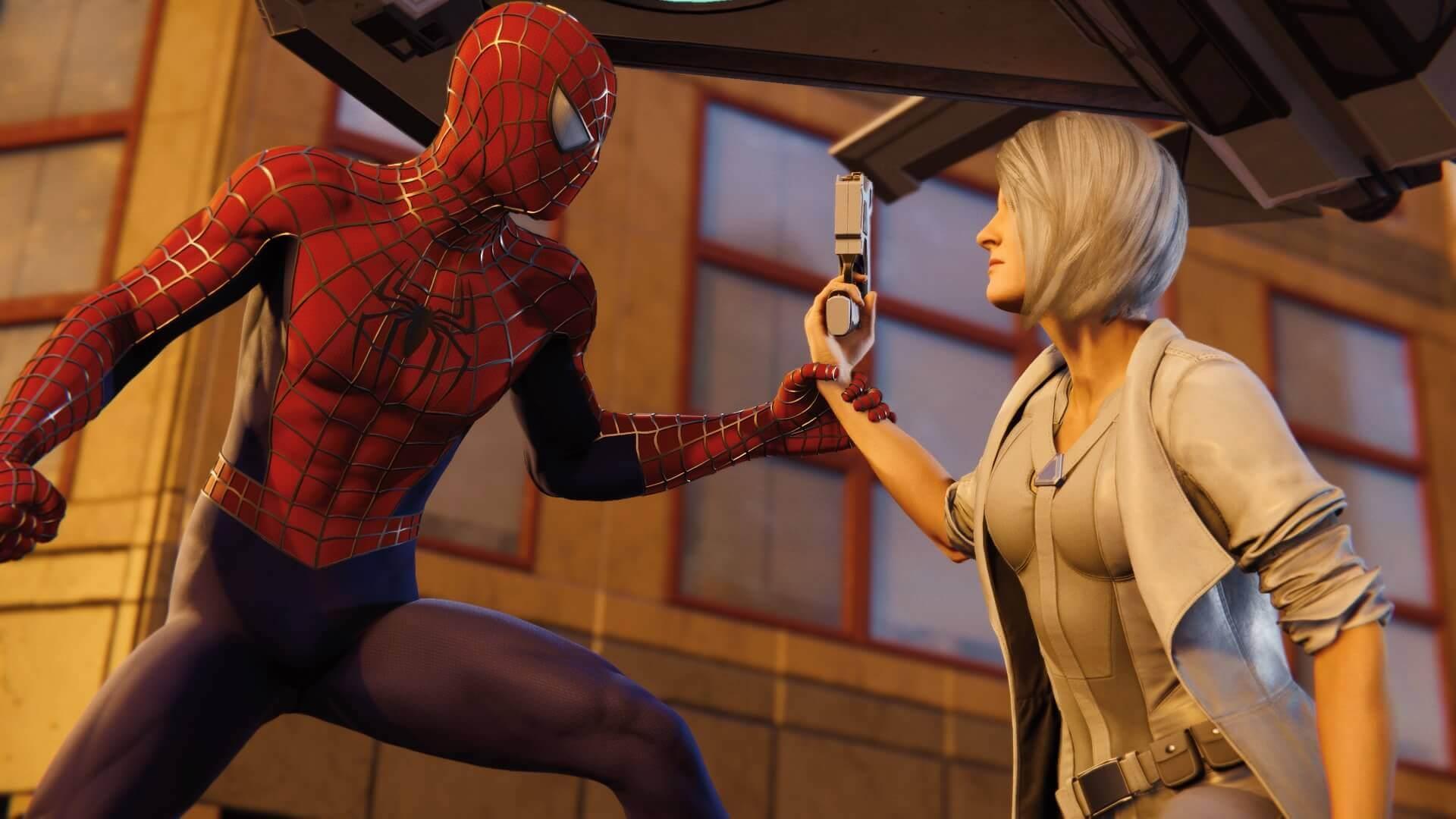 Spider-Man, Silver Lining, Delfos, Insomniac