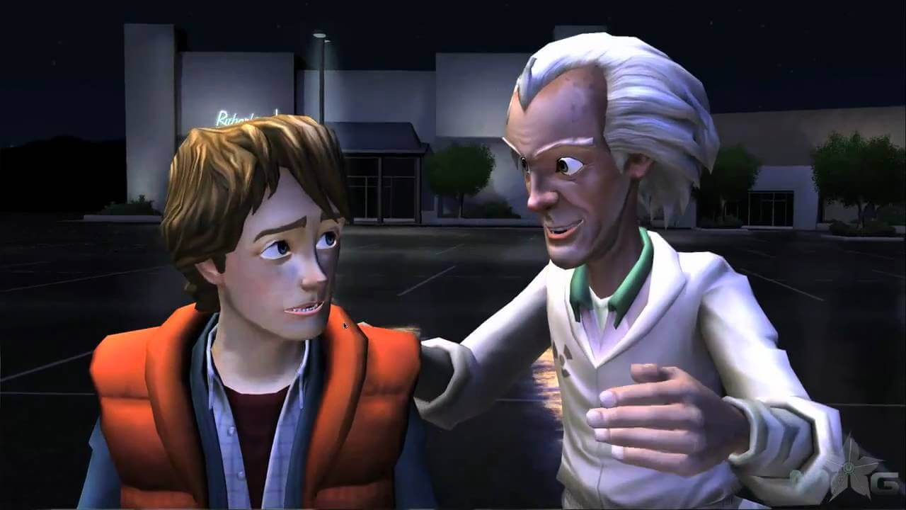 Telltale Games, Delfos, Back to the Future