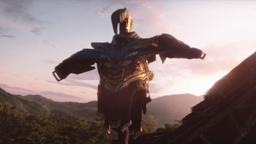 Armadura de Thanos em Vingadores: Ultimato