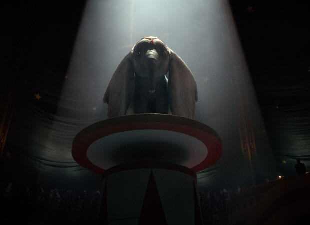 Dumbo, Dumbo filme, Tim Burton, Delfos