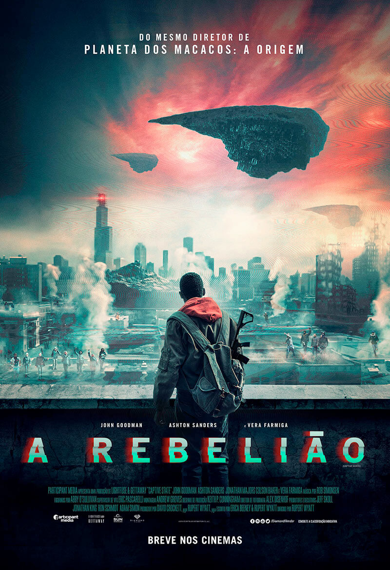 A Rebelião, Captive State, John Goodman, Delfos