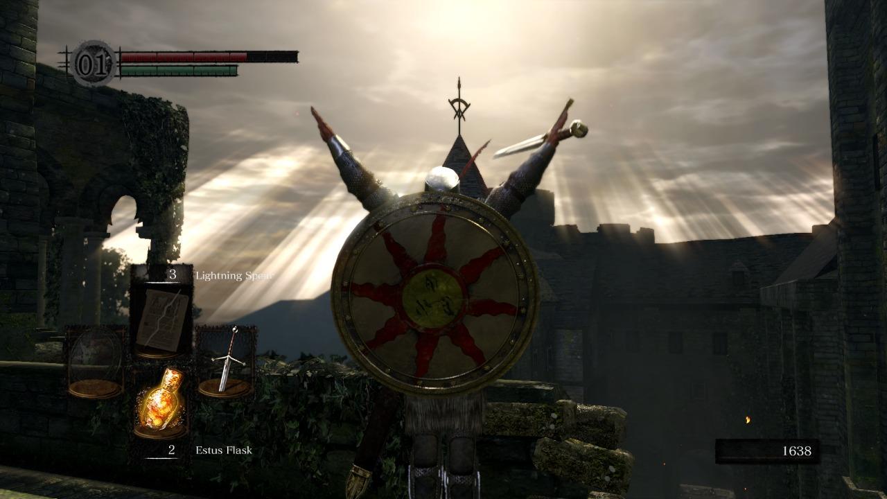 Modo easy nos Soulsborne, Delfos, Praise the Sun, Dark Souls