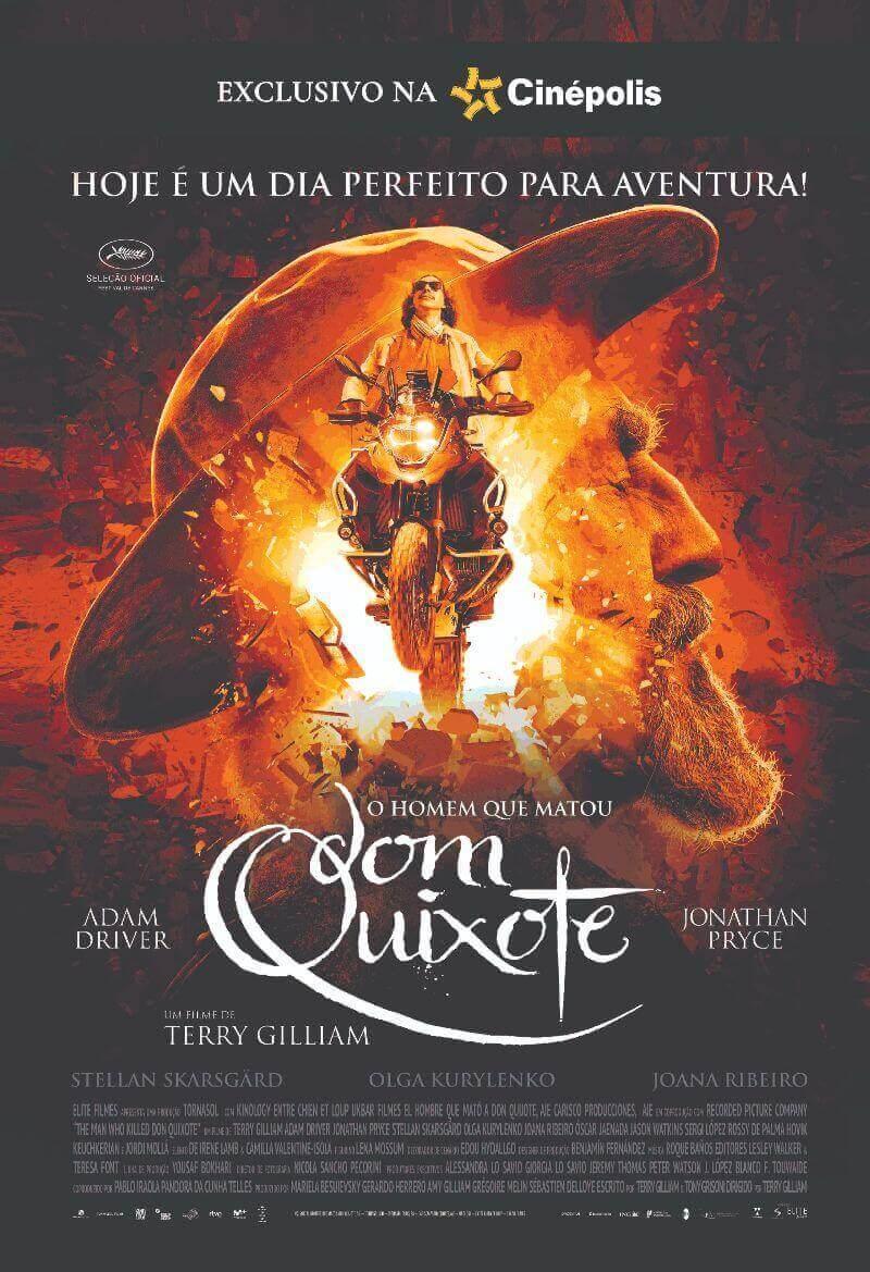 Crítica O Homem que Matou Dom Quixote, O Homem que Matou Dom Quixote, Delfos, Terry Gilliam, Adam Driver