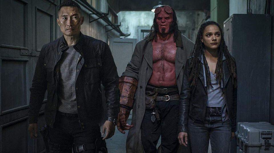 Crítica Hellboy, Hellboy, Hellboy 2019, David Harbour, Delfos