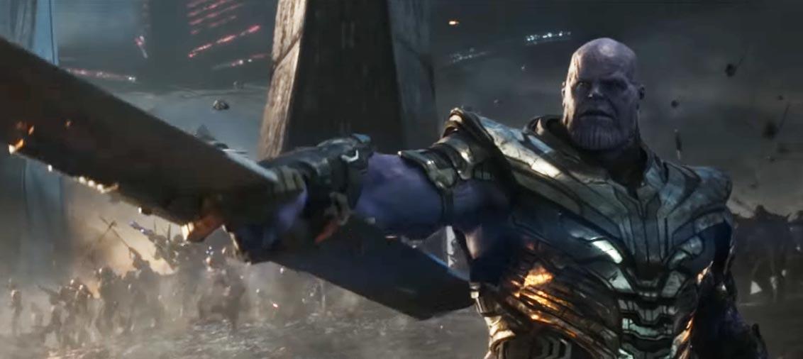 Artigo Vingadores: Ultimato COM SPOILERS, Thanos exército Vingadores Ultimato, Delfos