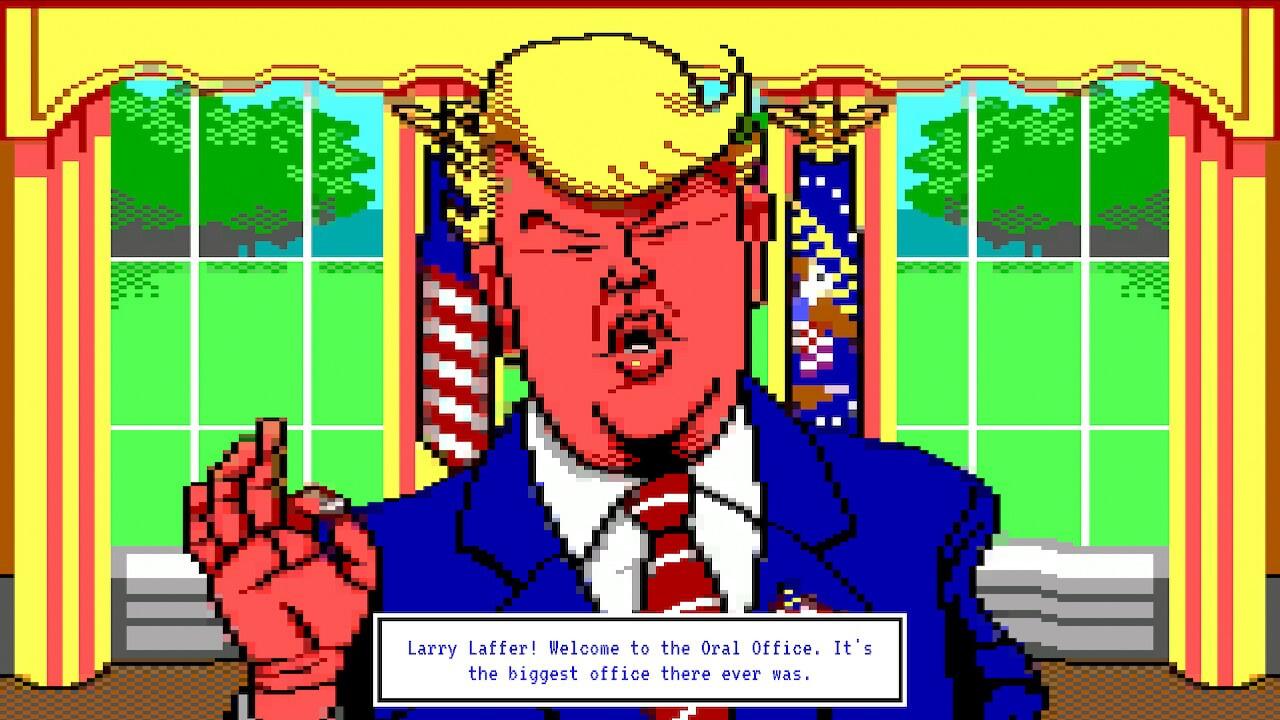 Análise Leisure Suit Larry - Wet Dreams Don't Dry, Leisure Suit Larry, Delfos