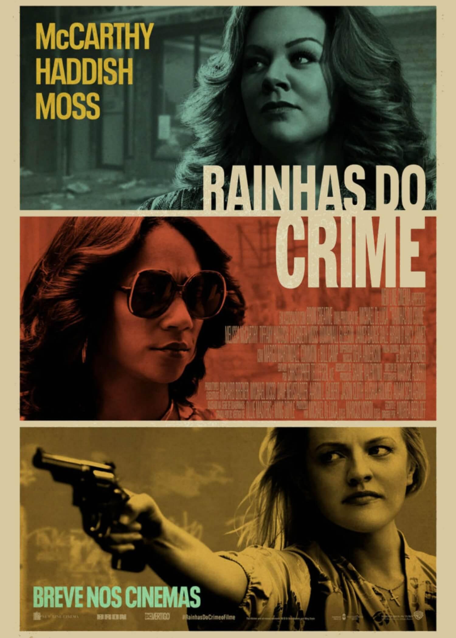 Crítica Rainhas do Crime, Rainhas do Crime, Elizabeth Moss, Melissa McCarthy, Delfos
