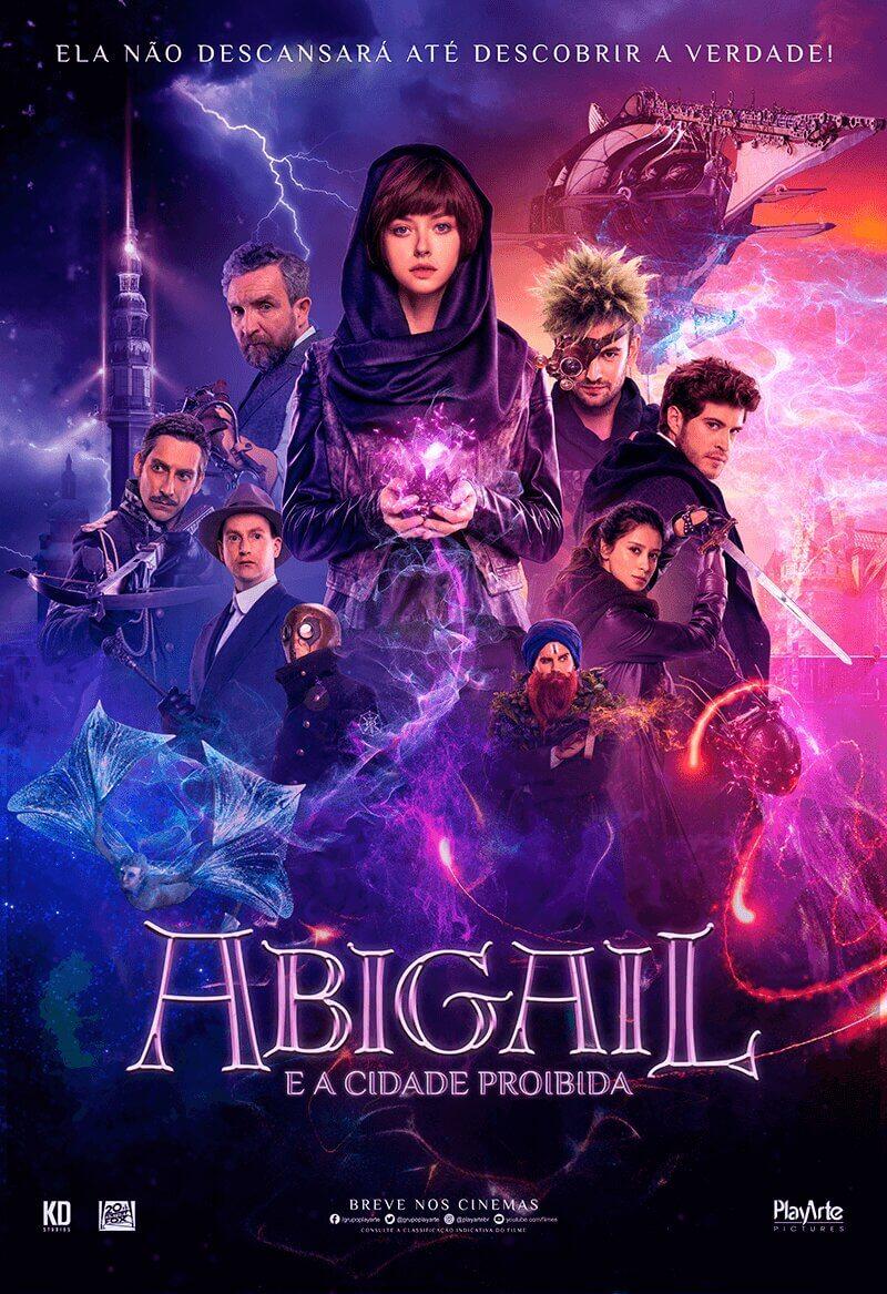 Crítica Abigail e a Cidade Proibida, Abigail, Playarte, Rússia, Delfos