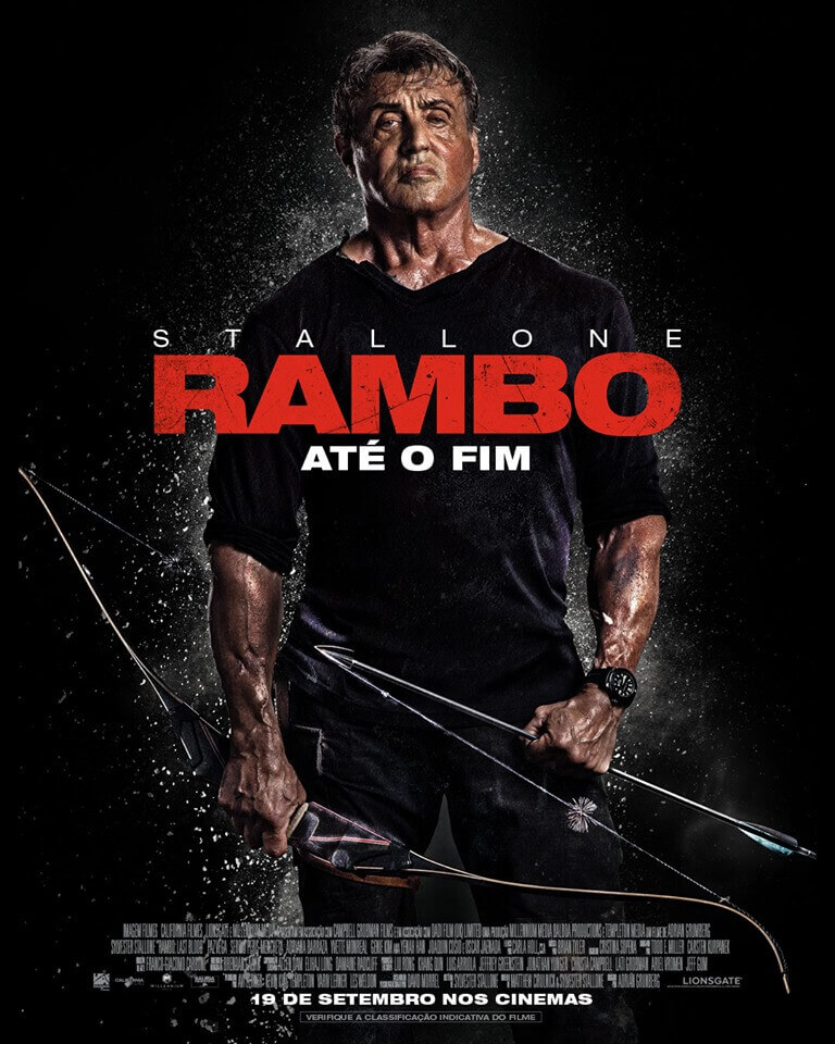Crítica Rambo Até o Fim, Rambo Até o Fim, Delfos, Sylvester Stallone