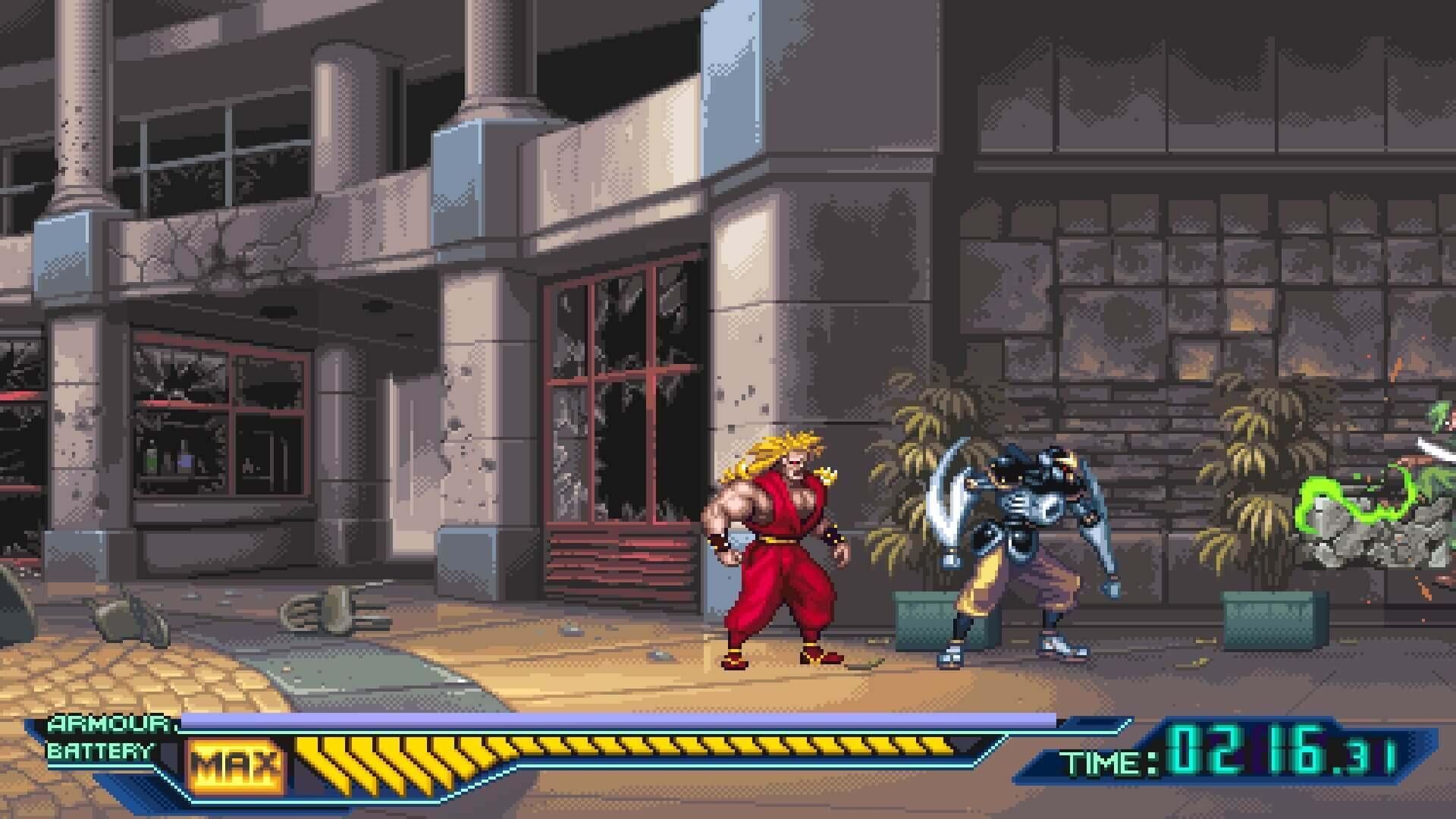 Ninja Saviors: Return of the Warriors, Ninja Warriors Once Again, Delfos