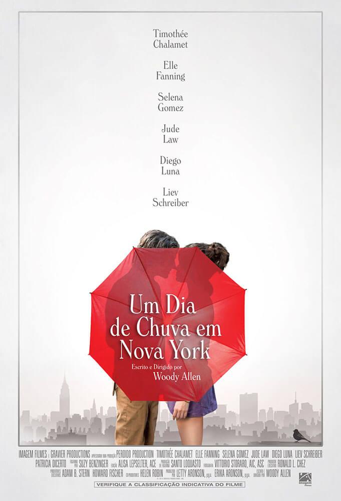 Crítica Um Dia de Chuva em Nova York, Woody Allen, Delfos
