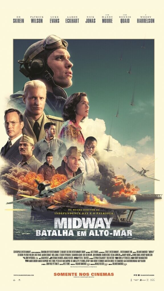 Crítica Midway, Midway, Roland Emmerich, Delfos