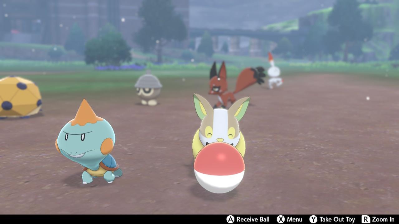Pokémon Sword e Shield, Delfos, Acampamento pokémon