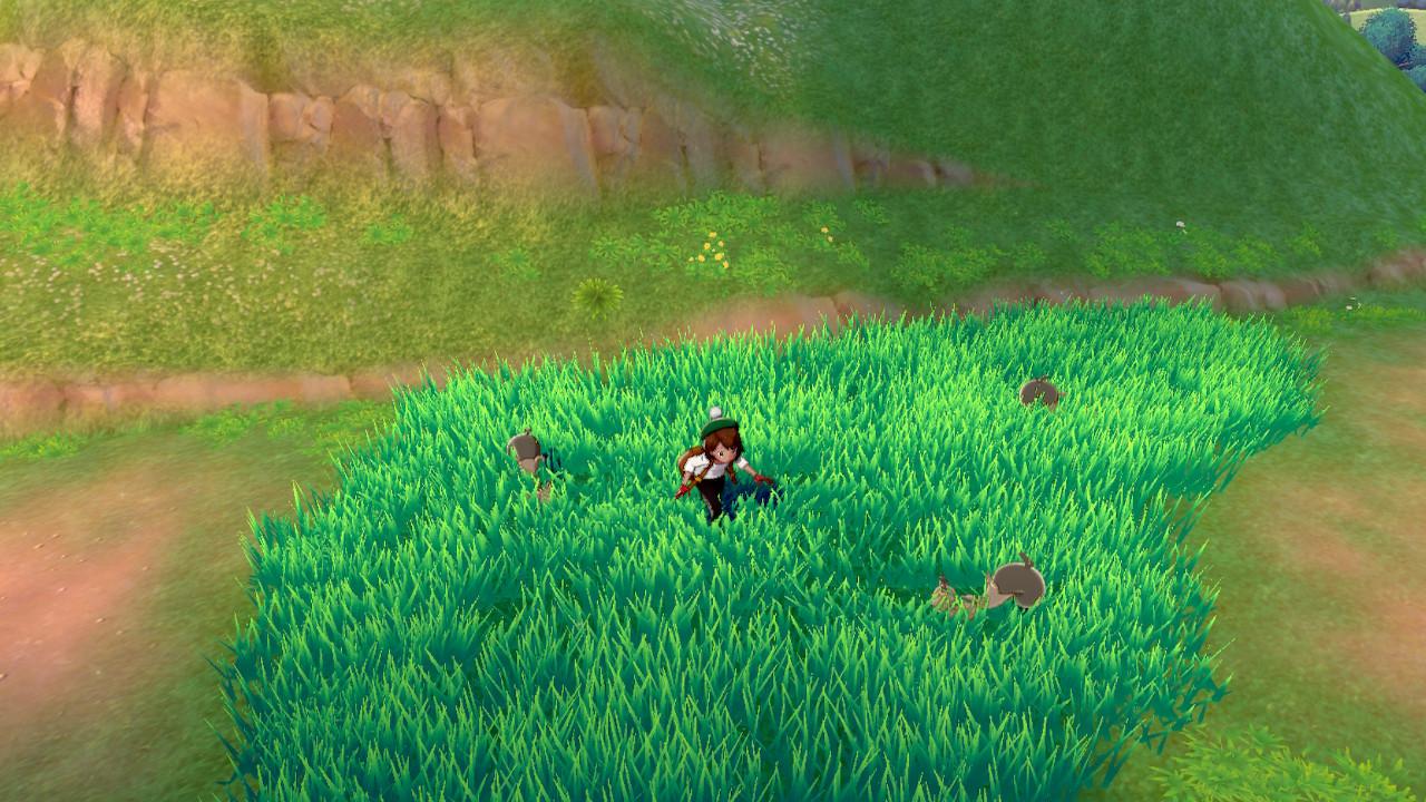 Pokémon Sword e Shield, Delfos, Arbustos