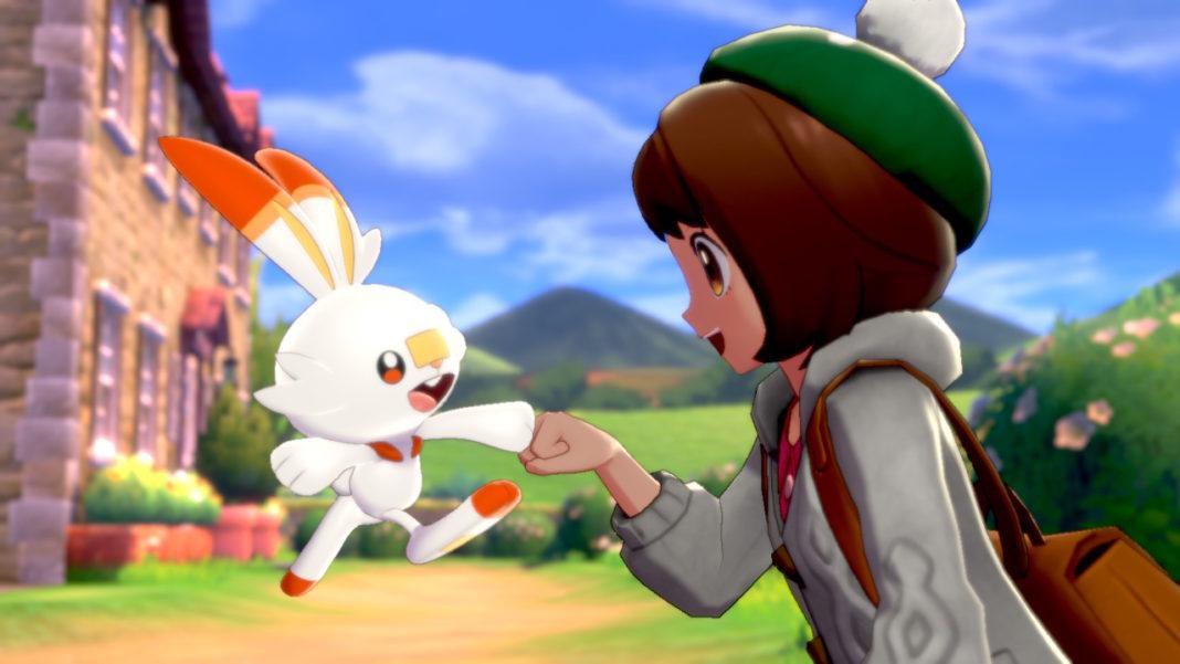 Pokémon Sword e Shield; Delfos; Scorbunny, eu escolho você