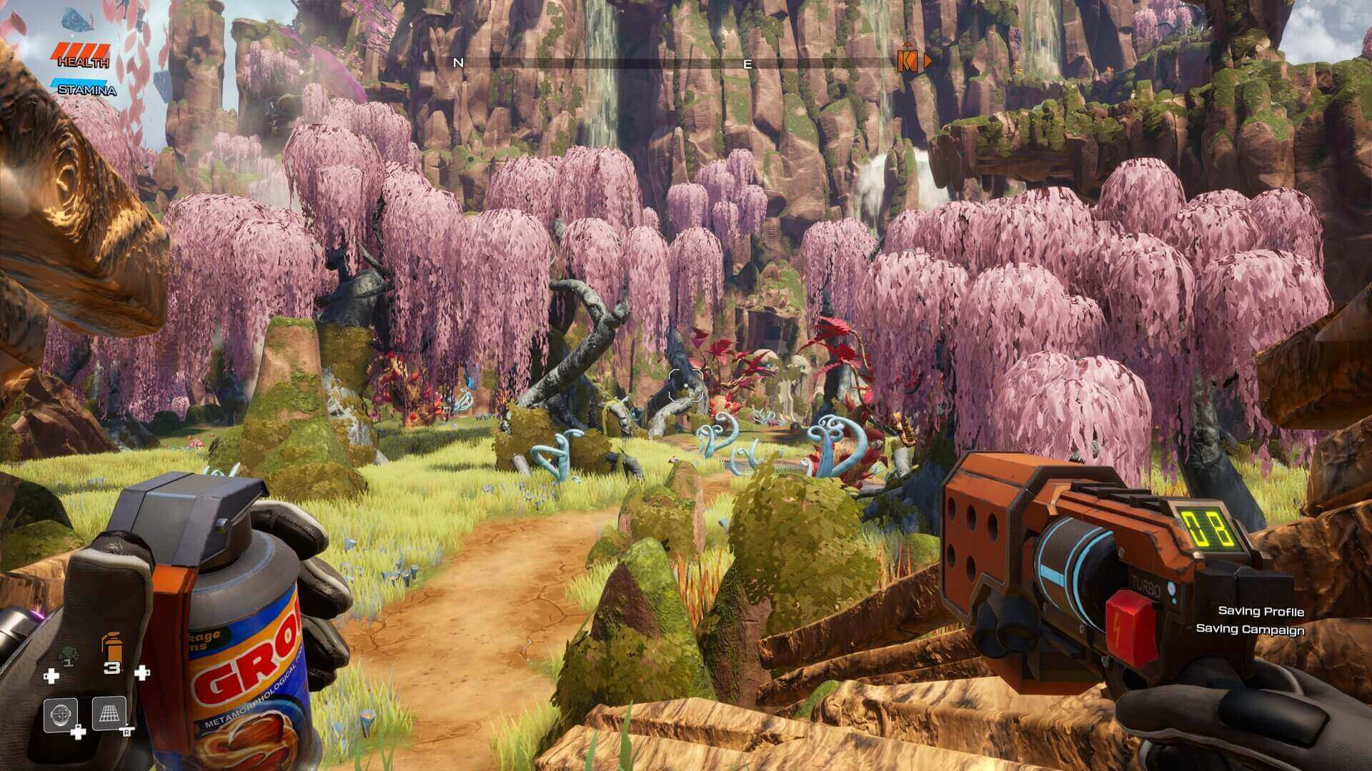 Análise Journey to the Savage Planet, 505 Games, Typhoon Studios, Delfos
