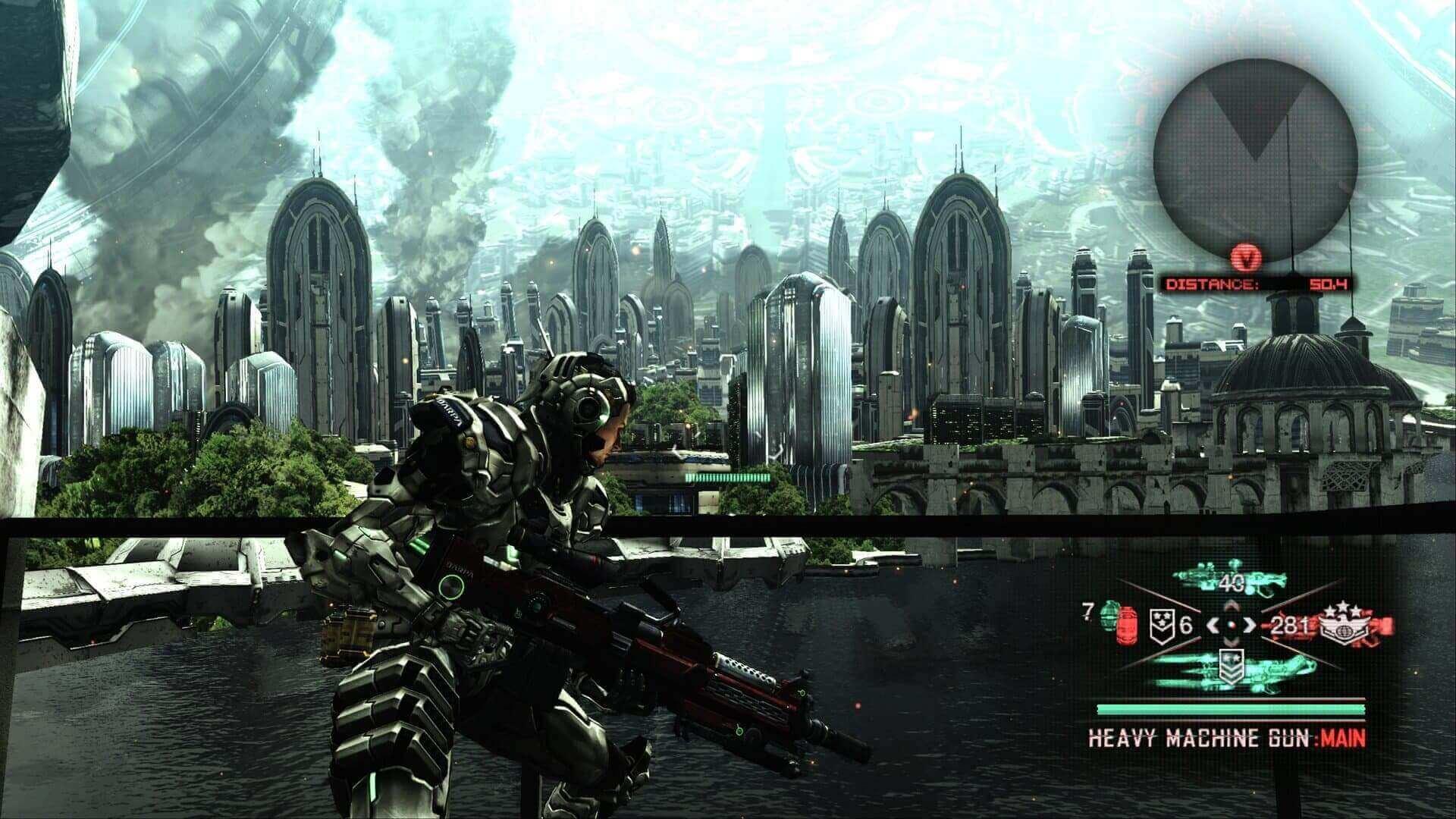 Vanquish, Platinum Games, Sega, Delfos