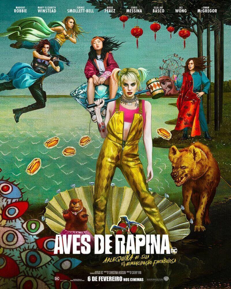 Crítica Aves de Rapina, Aves de Rapina, Birds of Prey, Arlequina, Margot Robbie, Delfos