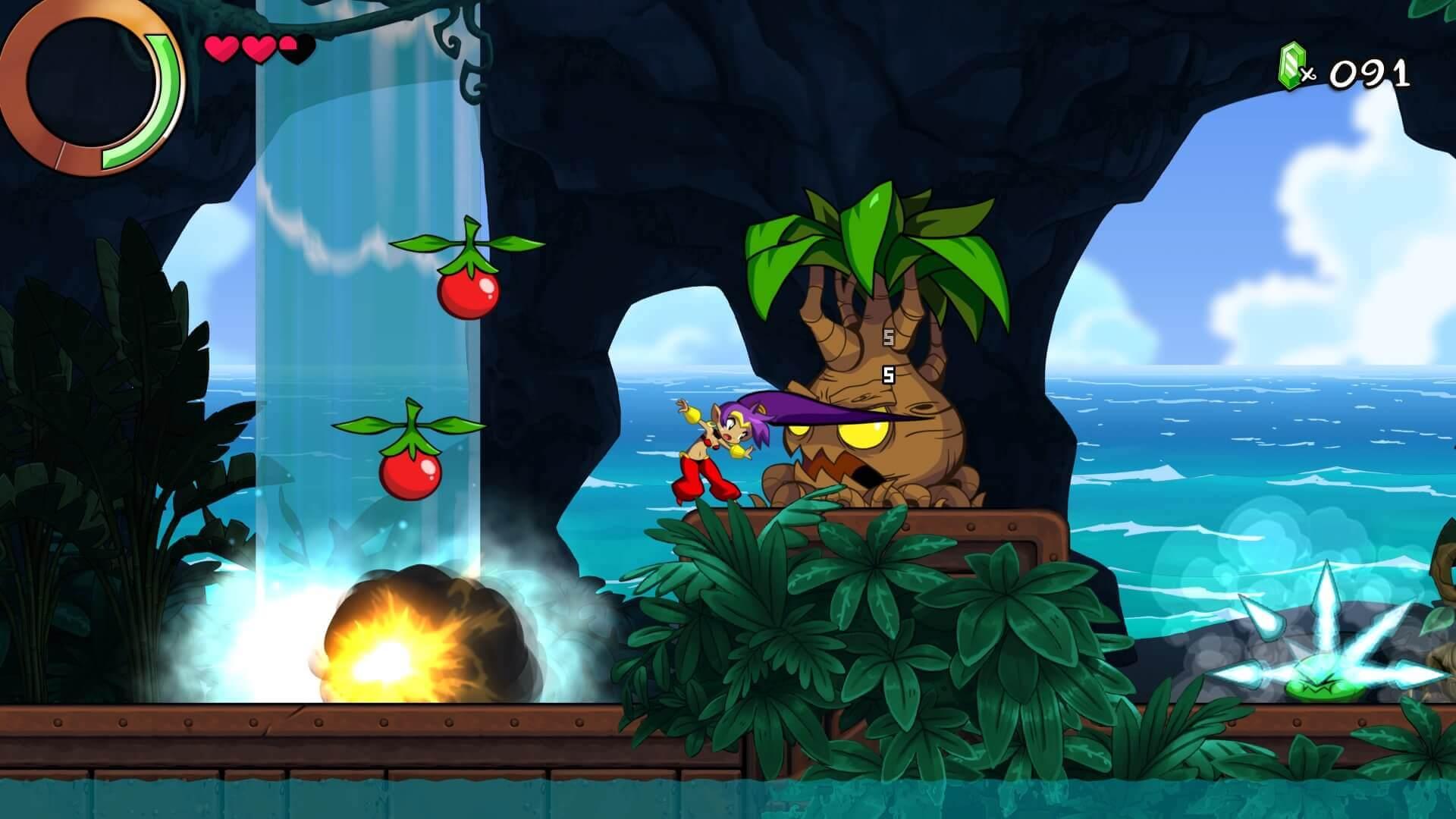 Análise Shantae and the Seven Sirens, Shantae, Shantae and the Seven Sirens, WayForward, Delfos