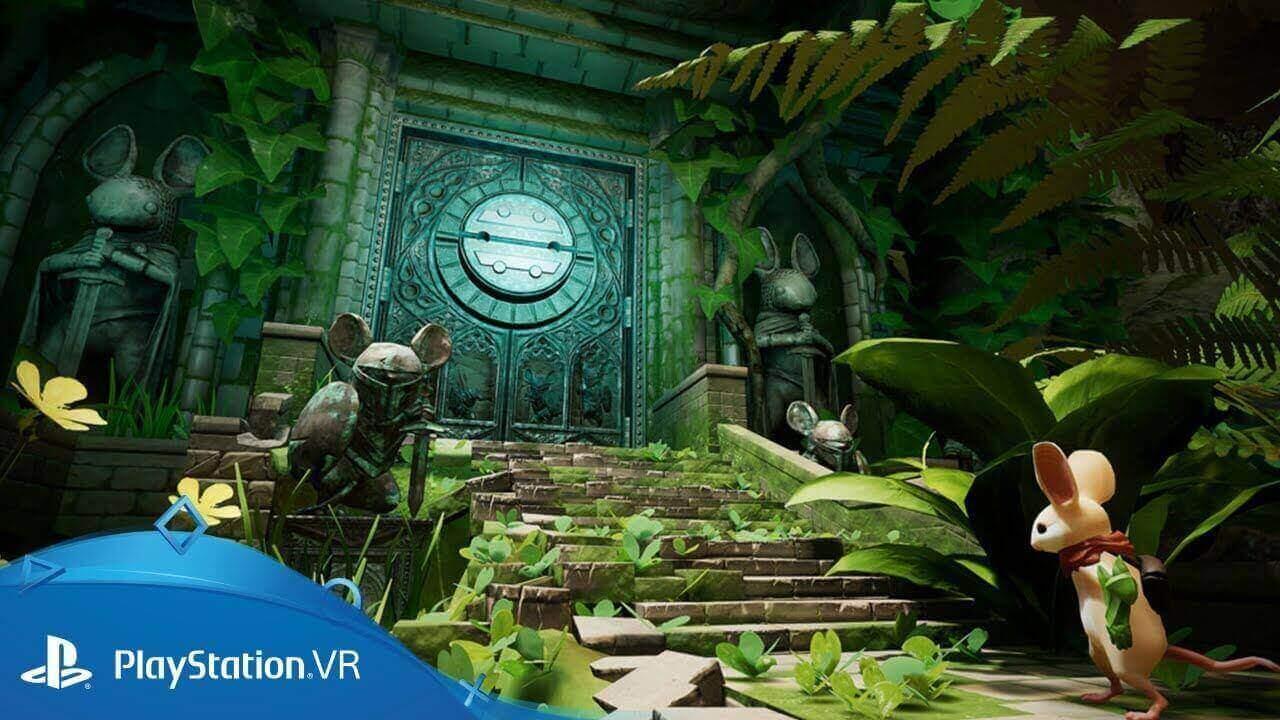 PS VR, Melhores do PS VR, Sony, PS4, Moss