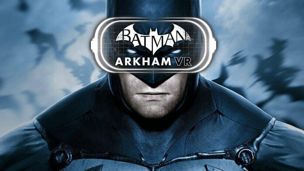 PS VR, Melhores do PS VR, Sony, PS4, Batman: Arkham VR