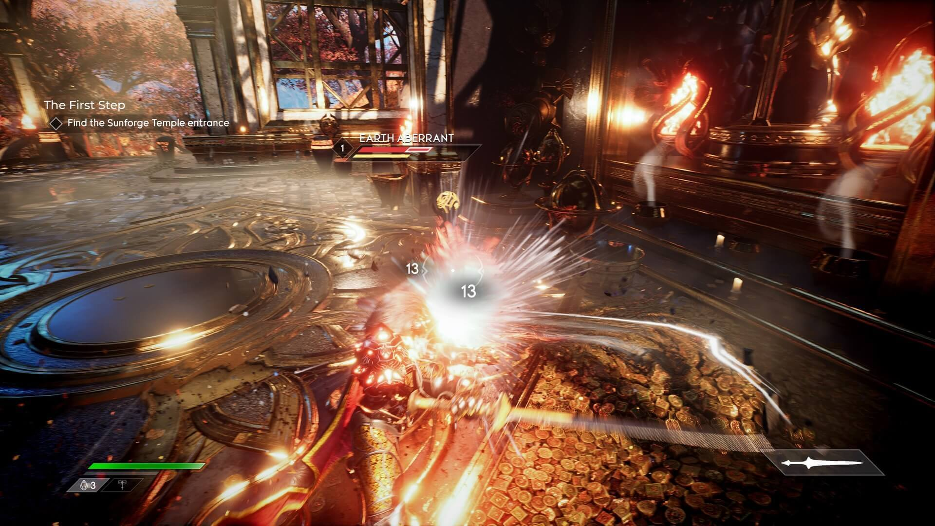 Análise Godfall, Godfall, Gearbox, PS5, Delfos