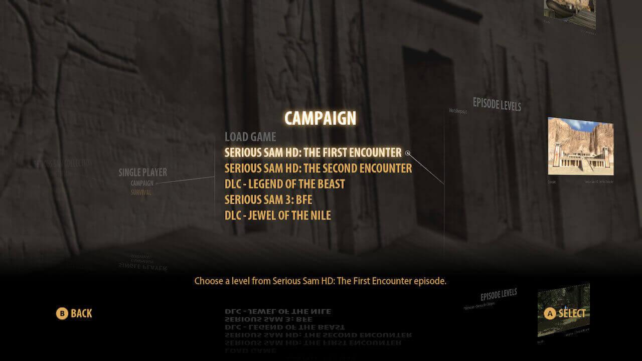 Análise Serious Sam Collection, Serious Sam, Devolver Digital, Croteam, Delfos