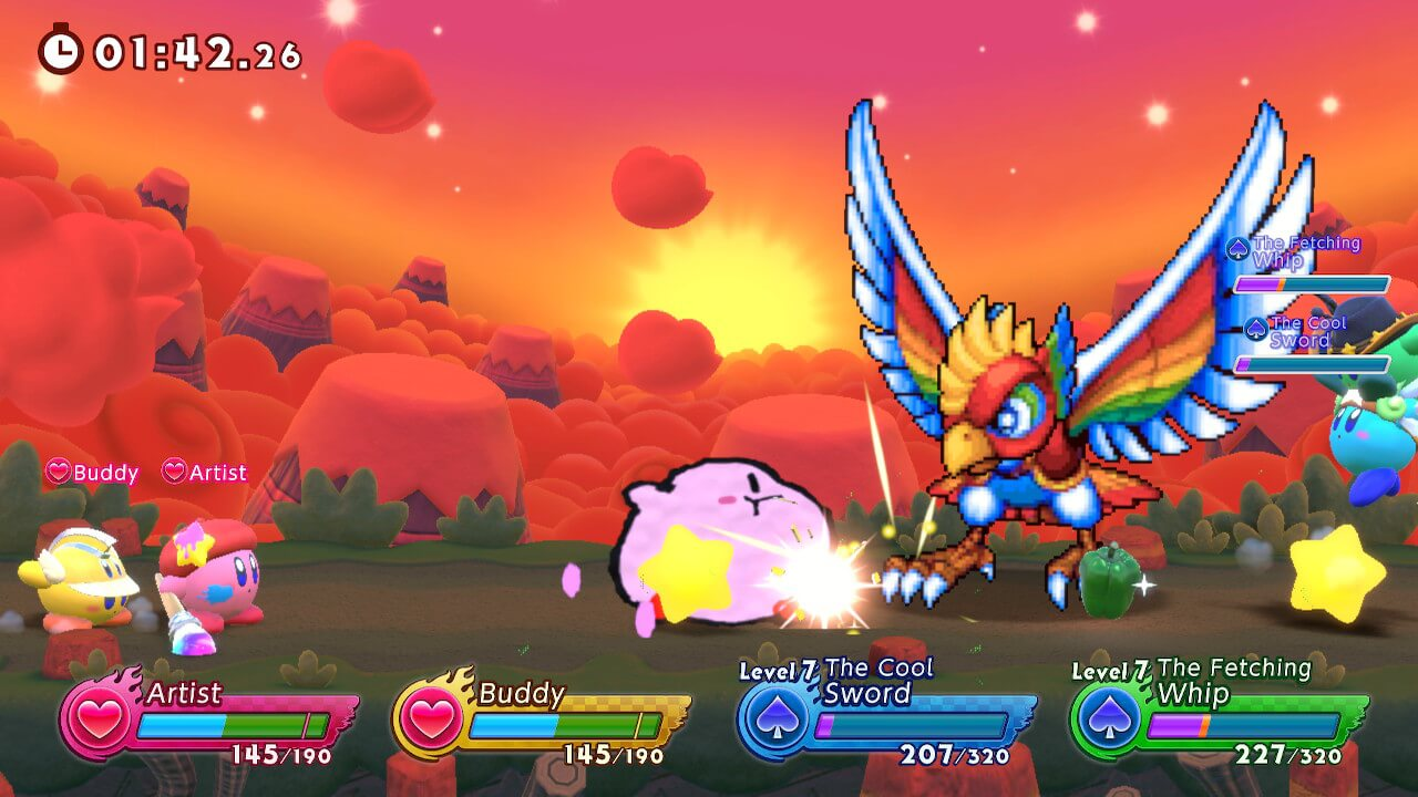 Análise Kirby Fighters 2, Kirby Fighers 2, Delfos