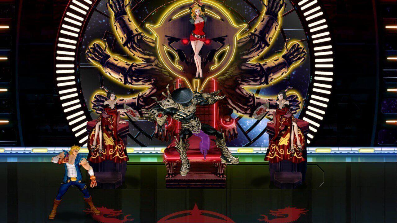 Double Dragon Neon, Wayforward, Double Dragon, Delfos