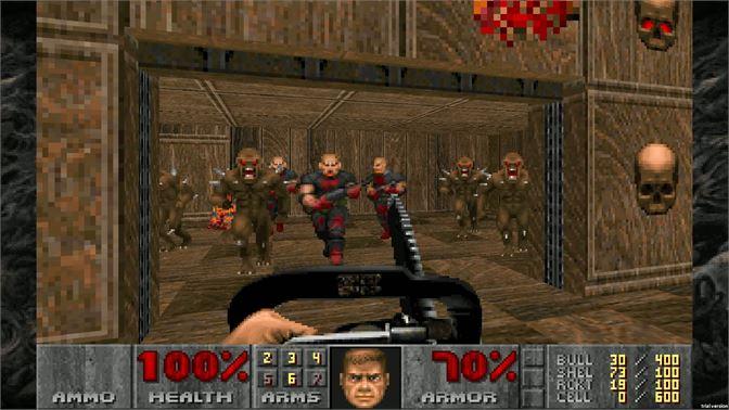 Doom, Doom clássicos, Bethesda, Delfos