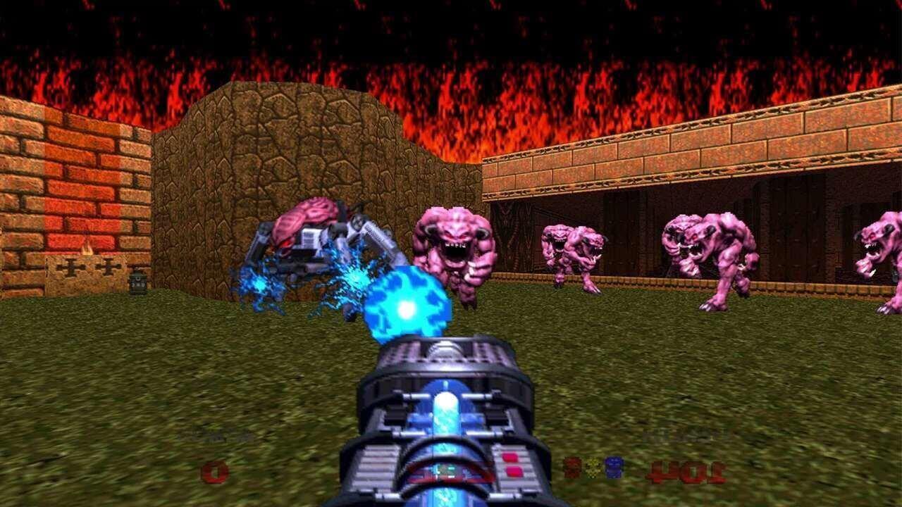 Doom, Doom clássicos, Bethesda, Delfos, Doom 64