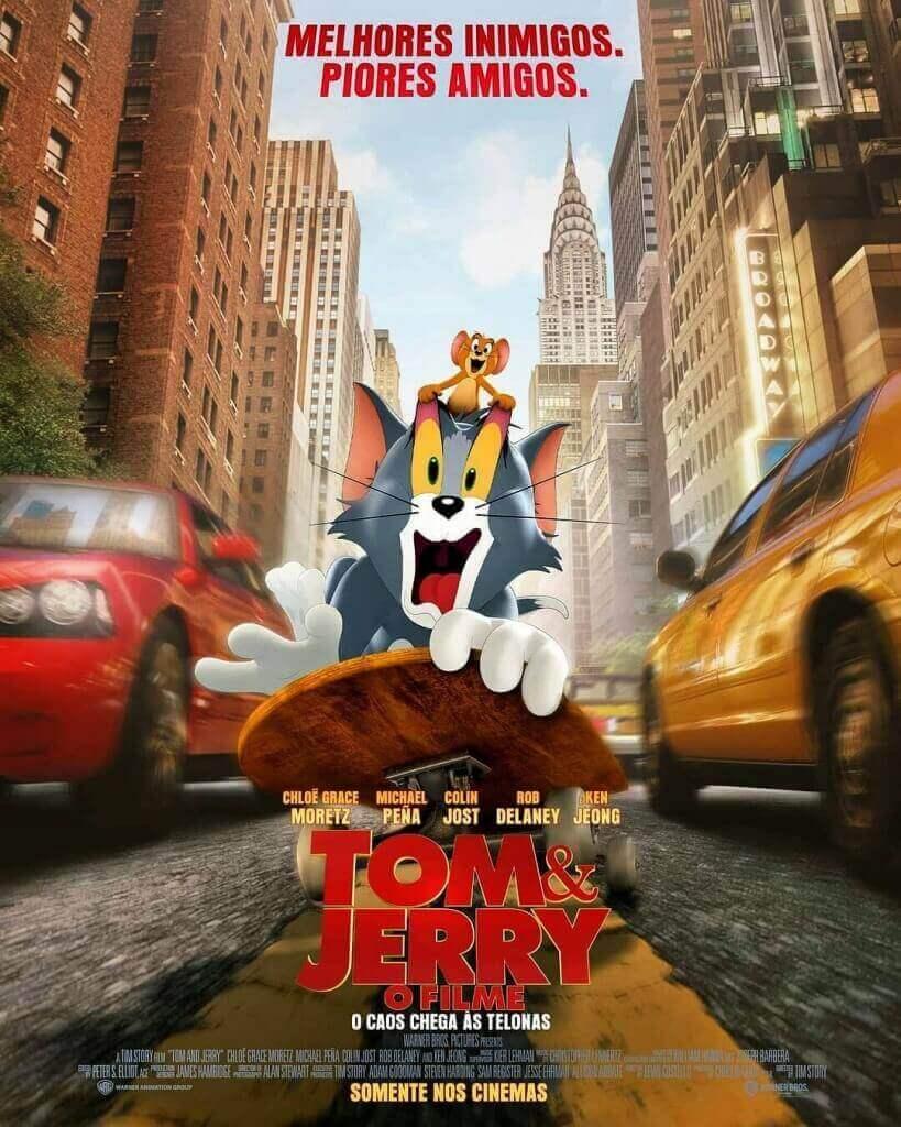 Crítica Tom & Jerry, Tom e Jerry, Delfos