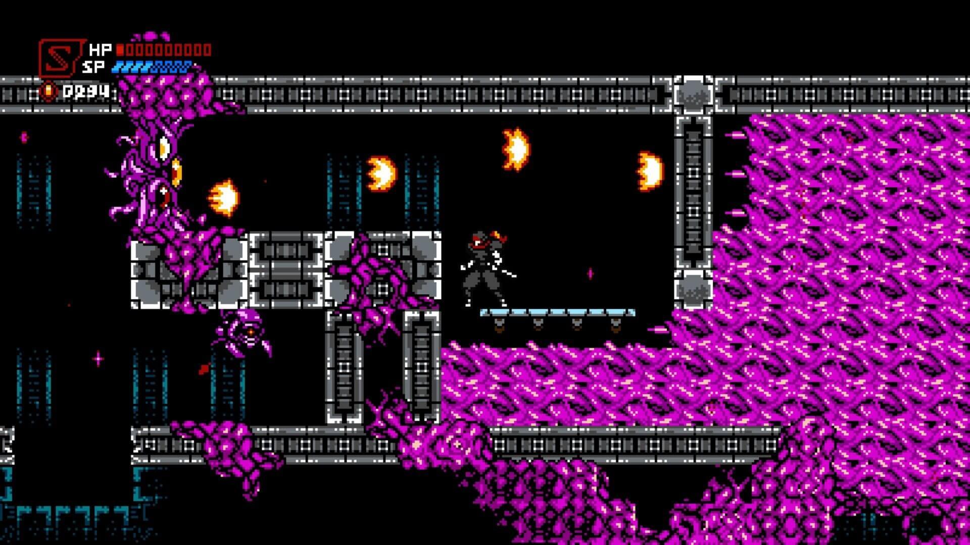 Cyber Shadow, Yacht Club Games, Delfos, Mechanical Head Studios
